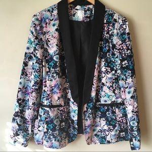 Lauren Conrad floral blazer